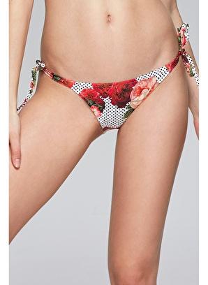 Reflections Mix Match Yandan Bağlamalı Desenli Bikini Alt